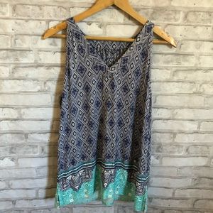 Skies are Blue Blouse Size Large
